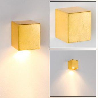 Matera Lampa ścienna Złoty, 1-punktowy