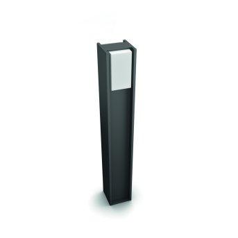 Philips Hue White Turaco Oświetlenie ścieżek LED Antracytowy, 1-punktowy