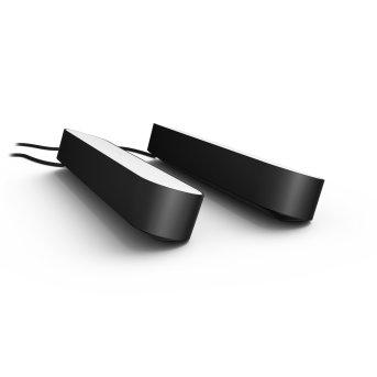 Philips Hue Ambiance White & Color Play Lightbar opakowanie podwójne zestaw podstawowy LED Czarny, 2-punktowe, Zmieniacz kolorów