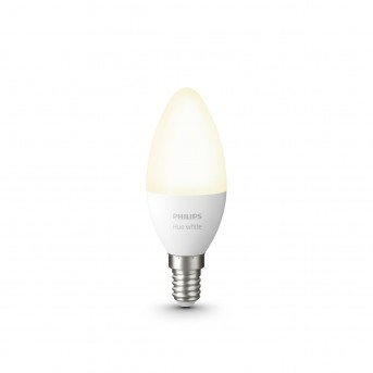 Philips Hue LED White E14 5,5 Watt 2700 Kelvin 470 Lumen