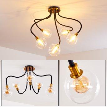 Lampa Sufitowa Hovslund LED Czarny, Złoty, 5-punktowe