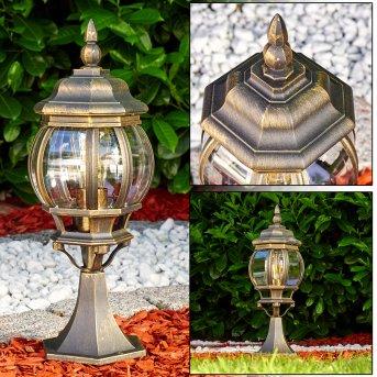 Lentua Lampa na cokół Brązowy, złoty, 1-punktowy