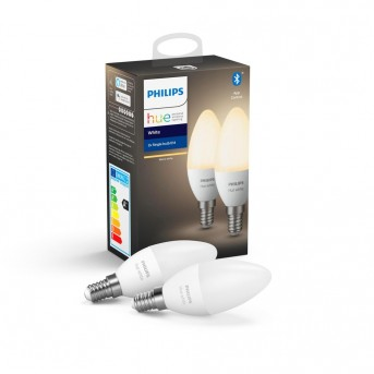 Philips Hue LED zestaw 2 White E14 5,5 Watt 2700 Kelvin 470 Lumen