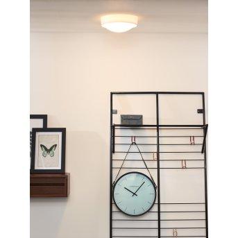 Lucide LEX lampa sufitowa Biały, 1-punktowy