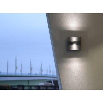 Lutec SPLIT Zewnętrzny kinkiet LED Antracytowy, 1-punktowy