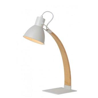 Lucide CURF Lampa stołowa Biały, 1-punktowy