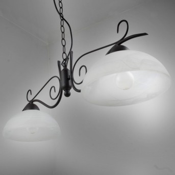 Reality lampa wisząca Rudy, 2-punktowe