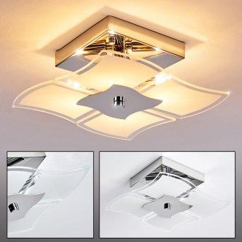 Rom lampa sufitowa Chrom, 4-punktowe