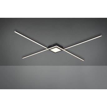 Trio Oxford Lampa Sufitowa LED Antracytowy, 1-punktowy