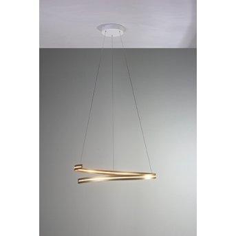 Bopp BREAK Lampa Wisząca LED Złoty, 1-punktowy