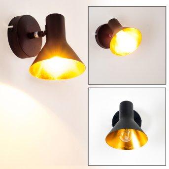 Mavas Lampa ścienna Czarny, 1-punktowy