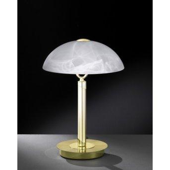 Wofi BRISTOL Lampa stołowa Mosiądz, 2-punktowe