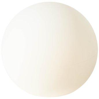 Brilliant Garden świecąca kula Biały, 1-punktowy