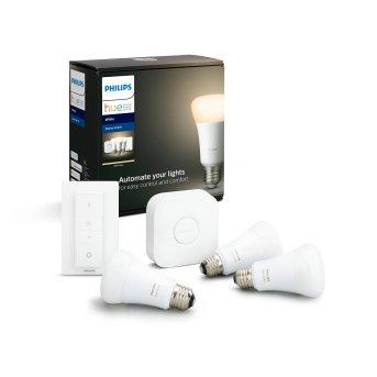 Philips Hue LED White E27 3Szt. Starter-Set 2700 Kelvin