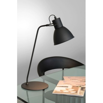 Lucide SHADI Lampa stołowa Czarny, 1-punktowy