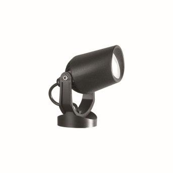 Ideal Lux MINITOMMY Reflektor ogrodowy Czarny, 1-punktowy
