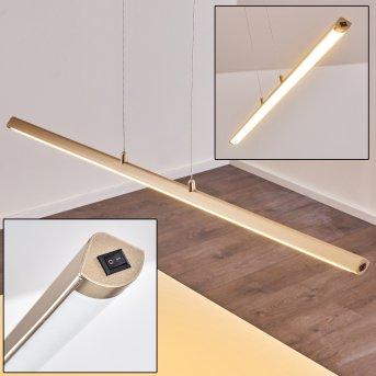 Wila Lampa Wisząca LED Nikiel matowy, 1-punktowy