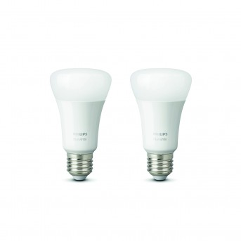 Philips Hue LED zestaw 2 White E27 9,5 Watt 2700 Kelvin 806 Lumen