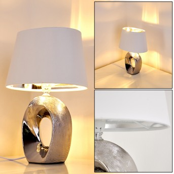 Rovio Lampa stołowa Srebrny, 1-punktowy