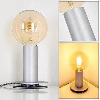 Kimstad Lampa stołowa Srebrny, 1-punktowy