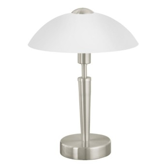 Eglo SOLO 1 Lampa stołowa Nikiel matowy
