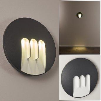 Silvso Zewnętrzny kinkiet LED Antracytowy, 3-punktowe