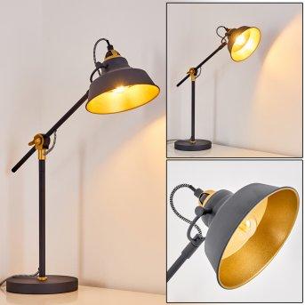 Luven Lampa stołowa Czarny, 1-punktowy, Zdalne sterowanie