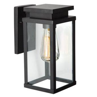KS Verlichting Jersey Lampa ścienna Czarny, 1-punktowy