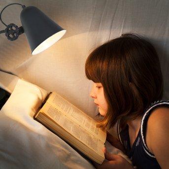Anne Lighting ANNE Lampa stołowa Czarny, 1-punktowy