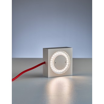 Tecnolumen Square Lampa dekoracyjna LED Aluminium, 1-punktowy