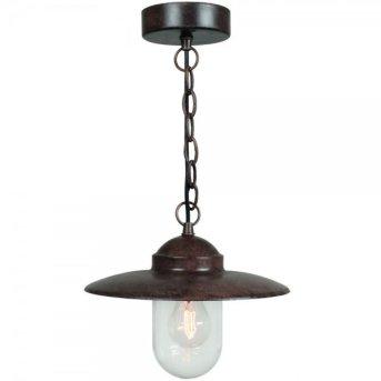 Nordlux LUXEMBOURG lampa wisząca Rudy, 1-punktowy