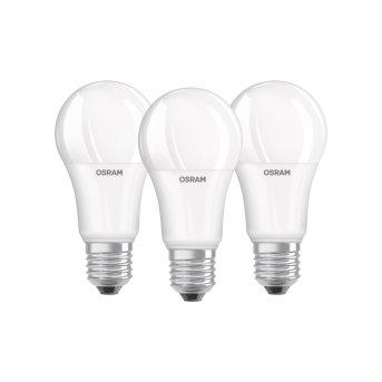 Osram LED E27 13 Watt 2700 Kelvin 1521 Lumen zestaw trzech