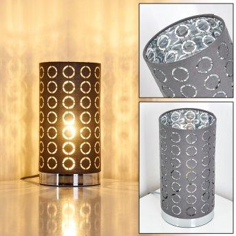 Sonderborg Lampa stołowa Chrom, Siwy, 1-punktowy