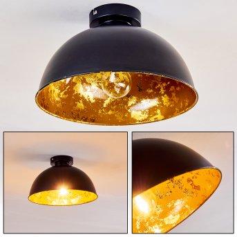 Hofstein Nome Lampa sufitowa Czarny, 1-punktowy