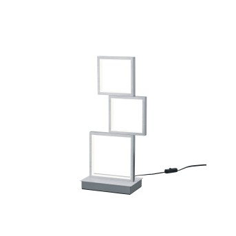 Trio Sorrento lampka nocna LED Aluminium, 1-punktowy