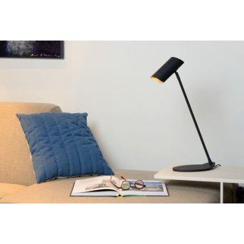 Lucide HESTER Lampa biurkowa Czarny, 1-punktowy