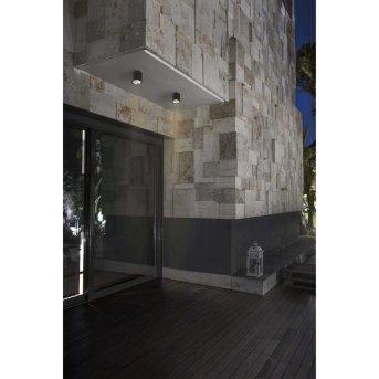 Faro Barcelona Goz Lampa Sufitowa LED Siwy, 1-punktowy