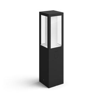 Philips Hue Ambiance White & Color Impress Lampa na cokół LED Czarny, 1-punktowy, Zmieniacz kolorów