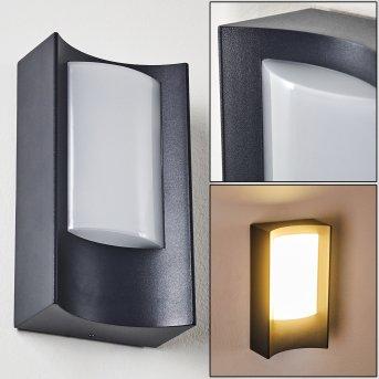 Zewnętrzny kinkiet Nordkapp LED Antracytowy, 1-punktowy