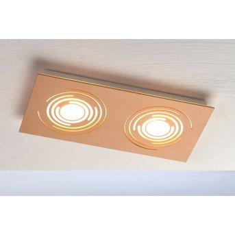 Bopp GALAXY COMFORT Lampa Sufitowa LED Złoty, 2-punktowe