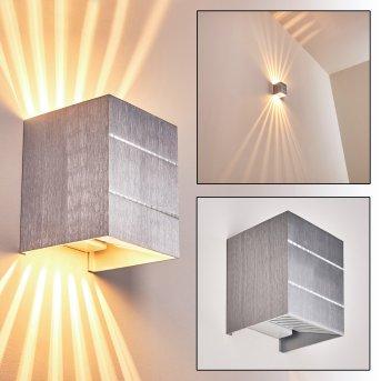 Erik lampa ścienna Aluminium, 1-punktowy
