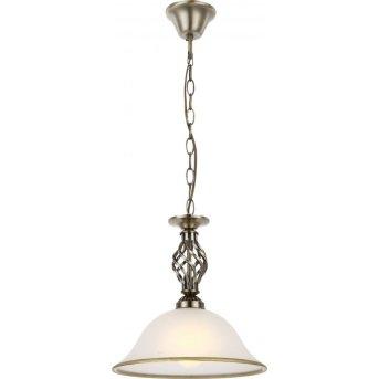 Globo Lampa wisząca Biały, 1-punktowy