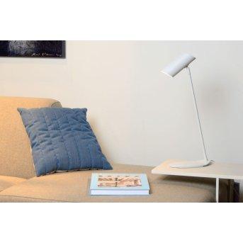 Lucide HESTER Lampa biurkowa Biały, 1-punktowy