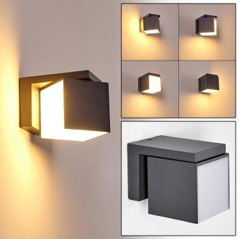 Swanek Zewnętrzny kinkiet LED Antracytowy, 1-punktowy