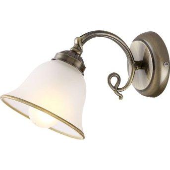 Globo Lampa ścienna Biały, 1-punktowy