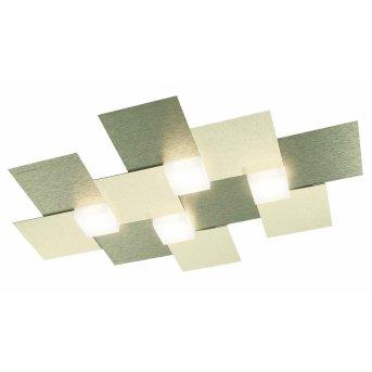 Grossmann Creo Lampa Sufitowa LED W kolorze szampana, 4-punktowe