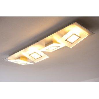 Bopp FRAME lampa sufitowa LED Aluminium, 4-punktowe