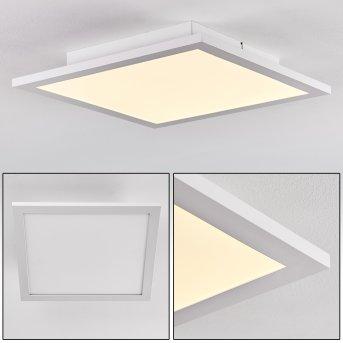 Salmi Lampa Sufitowa LED Aluminium, Biały, 1-punktowy