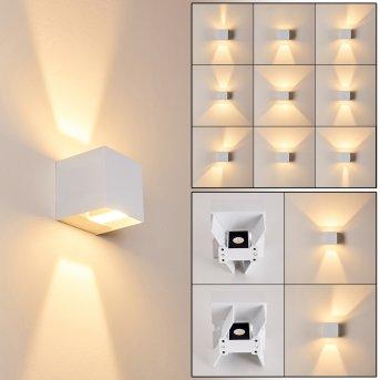 Fauderup Zewnętrzny kinkiet LED Biały, 2-punktowe