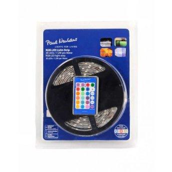 Paul Neuhaus TEANIA Paski świetlne LED Kolorowy, 300-punktowe, Zdalne sterowanie, Zmieniacz kolorów
